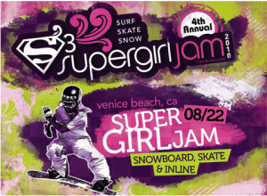 2010 Supergirl Jam Poster